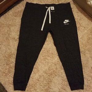 Womens Nike sweatpants.
